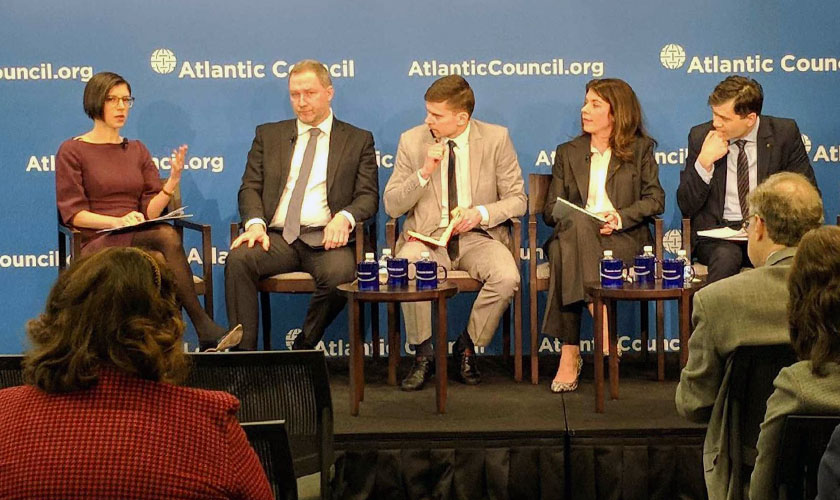 Panelist on Ukraine's Experience with Russian Cyber Attacks at the Atlantic Council